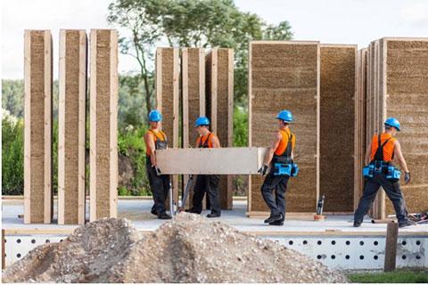 Construir casas con paneles de paja art culos online for Hacer casas online